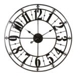 Clock- Metal Gloss Black
