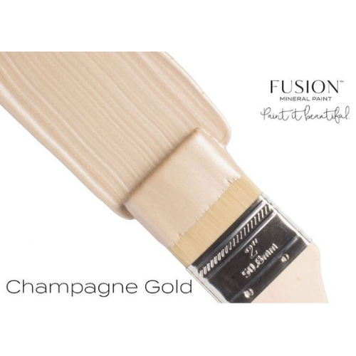 Explore Colors Gold Fusion: Fusion Mineral Paint Metallic- Champagne Gold